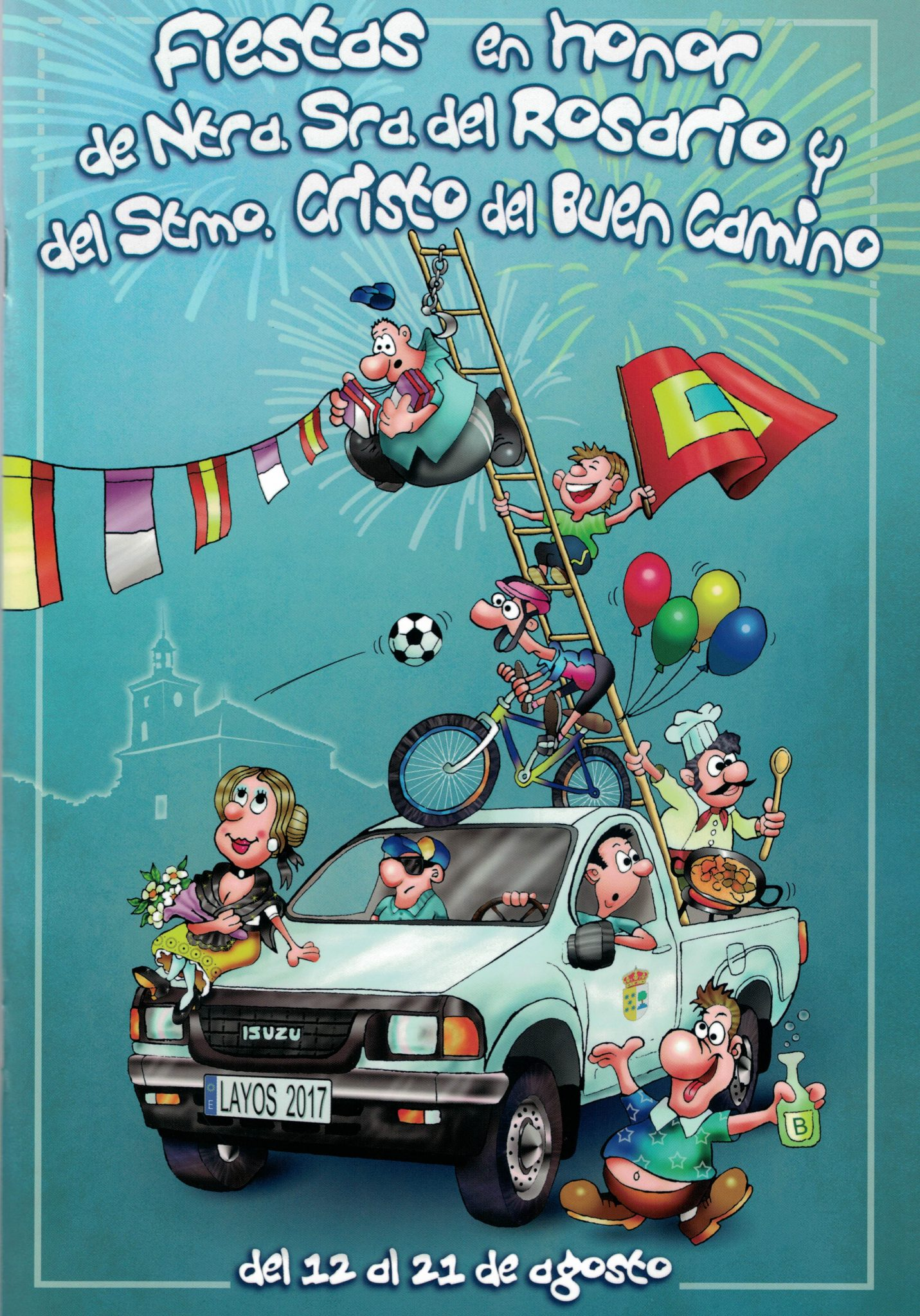 Fiestas de agosto del 11 al 21 2017 ayuntamiento de layos for Oficina virtual jccm
